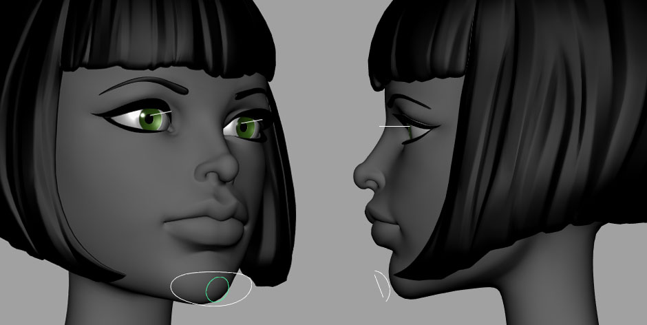 Old Drag And Drop Face Rig | Create 3d Characters
