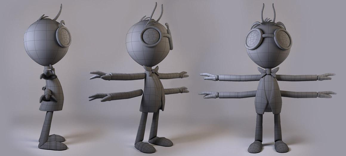 Maya: Modelling Blocking Characters | Create 3d Characters