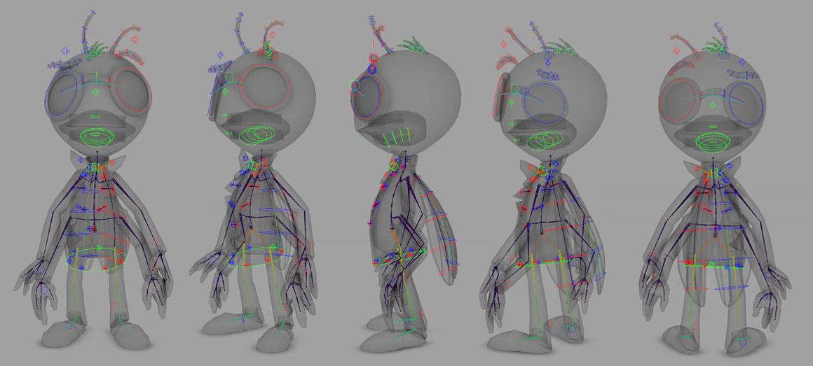 Maya: ZooTools Custom Controls 2017 | Create 3d Characters