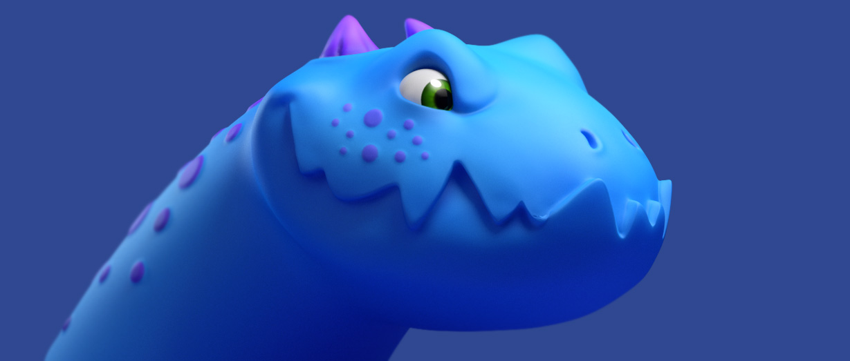 ZBrush: Simple Dragon Block | Create 3d Characters