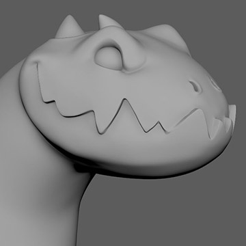 ZBrush: Simple Dragon Sculpt | Create 3d Characters