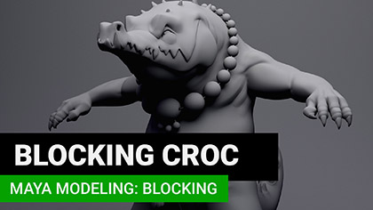 ZBrush: Simple Dragon Surfacing | Create 3d Characters